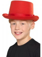 Childs Red Top Hat